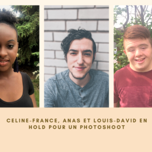Celine-France, Anas et Louis-David en hold